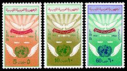 Libya, 1970, United Nations 25th Anniversary, MNH, Michel 312-314 - Libye