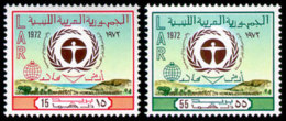 Libya, 1972, United Nations Conference On The Environment, UNEP, MNH, Michel 397-398 - Libye