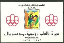 Libya, 1976, Olympic Summer Games Montreal, MNH, Michel Block 21 - Libye