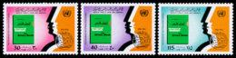 Libya, 1978, International Year Against Racial Discrimination, United Nations, MNH, Michel 662-664 - Libye
