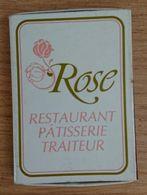 France Boite D'allumettes Vide - Restaurant Rose - Boites D'allumettes