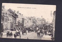 Vente Immediate Courses De La Capelle (02) La Sortie ( Animée Ed. Librairie Camart Hugot 42407 ) - Sonstige Gemeinden