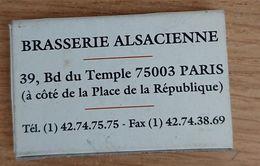 France Boite D'allumettes Vide - Restaurant Chez Jenny - Boites D'allumettes