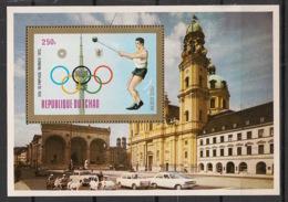Tchad - 1972 - Bloc Feuillet BF N°Yv. 13L - Munich / Olympics - Neuf Luxe ** / MNH / Postfrisch - Tchad (1960-...)