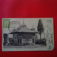 CONSTANTINOPLE FONTAINE DU SULTAN AHMED STAMBOUL - Turchia