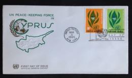 United Nations/N.Y., Uncirculated FDC « Cyprus», 1965 - New-York - Siège De L'ONU