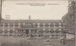 Sarthe : PARIGNE L ' EVEQUE : Sanatorium , Services  Généraux - Autres Communes
