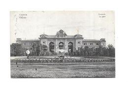 ODESSA : La Gare, Thème Chemin De Fer, Gare, - Ucraina