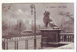 CPA - GENEVE - Soir D'Hiver - GE Geneva
