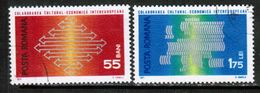 ROMANIA  Scott # 2241-2 VF USED (Stamp Scan # 689) - 1948-.... Republiken