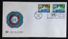 United Nations/N.Y., Uncirculated FDC « Organizations », « IMCO », « OMCI », 1964 - New-York - Siège De L'ONU