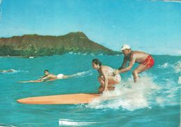 CROISIERE - AMORA - 1963/64 - HONOLULU - AQUAPLANE - COTE 20€ - Hawai