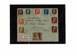 CTN63/ETR - BAVIERE DEVANT DE LETTRE RECOMMANDEE DU 10/3/1911 - Bavaria