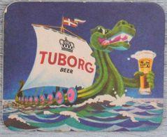 Sous-bock TUBORG (bateau, Dragon, Danois, Danemark, Drakkar, Vikings) Bierdeckel Bierviltje Coaster (CX) - Portavasos