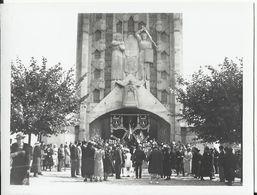 78. Yvelines - ELISABETHVILLE-sur-SEINE - Photo 11 X 8.5 - Service Religieux En Mémoire De La Reine Astrid Le 8-9-1935 - Autres Communes