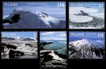 Island Islande 1095/99 Glaciers Et Volcans - Vulcani