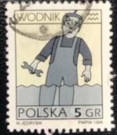 Polska - Poland - Polen - P1/6 - (°)used - Symbolen Van De Dierenriem - Michel Nr. 3610 - Waterman - Astrologie