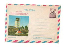 Enveloppe Prin Avion 1926-1976 Posta Romana 50 De Ani De La Inaugurarea Primei Linii Aeroportul Suceava - Andere Verzamelingen