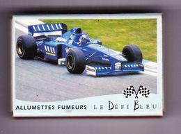 France Boite D'allumettes Vide - Le Défi Bleu - Grand Prix Automobile - Boites D'allumettes