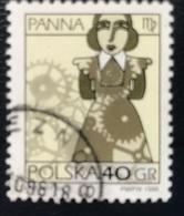 Polska - Poland - Polen - P1/6 - (°)used - Symbolen Van De Dierenriem - Michel Nr. 3589 - Maagd - Astrologie