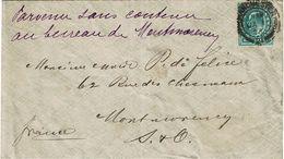"""CTN63/ETR - GRANDE BRETAGNE LETTRE DU 1/1/1903 """"PARVENU SANS CONTENU"""" - Storia Postale"""