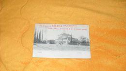CARTE POSTALE ANCIENNE CIRCULEE DE 1908.../ LIERRE.- LA STATION...MARGARINE BELGICA..RAYMAKERS, HUSTINX & CIE..LIERRE AN - Lier