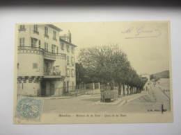 Cpa  MANTES (78)  Maison De La Tour - Quai De La Tour - Mantes La Jolie
