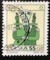 Polska - Poland - Polen - P1/6 - (°)used - Symbolen Van De Dierenriem - Michel Nr. 3597 - Weegschaal - Astrologie