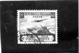 B - 1952 Italia - Forze Armate - 1946-.. République