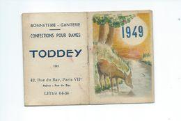 Petit Calendrier De 1949 - Calendriers