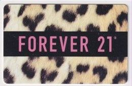 GC  25826 Forever 21 - Cartes Cadeaux