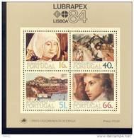 Por. Block 044 Lubrapex 84  Postfrisch ** MNH - Blocks & Kleinbögen