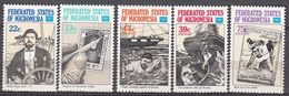 Micronesia 1986 Ameripex  Michel 57-61  MNH 28112 - Micronesia