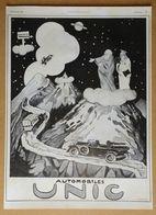 1924 Automobiles UNIC (Puteaux) - Publicité - Werbung