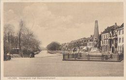 Helder - Havenplein Met Marinemonument - Den Helder