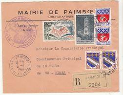 ESC Mairie De Paimboeuf Recommandée 2F30 1968 - 1961-....