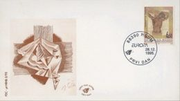 1995 FDC, Europa, Croat Post Mostar, Bosnia And Herzegovina,MNH - Bosnia Herzegovina