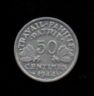 France - 50 Centimes / Lindauer - 1944 B (verso Voir Scan) - Francia