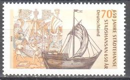 Germany - Städthanse Stadshansan 650 Years Anniversary - MNH - Stamps