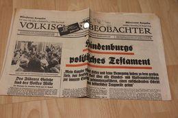 Völkischer Beobachter 1934 - Magazines & Newspapers