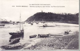 SAINT BRIEUC - Entrée Du Port à Mer Basse - La Tour De Cesson  (1915)  -2202- - France