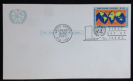 United Nations/N.Y., Uncirculated Card, 1963 - New-York - Siège De L'ONU