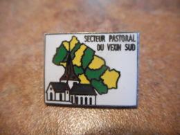 Lot 063 -- Pin's Secteur Pastoral Du Vexin Sud - Steden