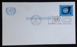 United Nations/N.Y., Uncirculated Card, 1969 - New-York - Siège De L'ONU