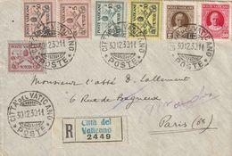 LETTRE POUR PARIS 1930 - Vatican