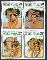 Micronesia 1994 Traditional Costumes  Michel 356-59  MNH 28116 - Micronesia