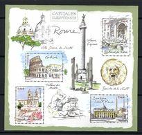 FRANCE  Blocs&Feuillets :  ''Capitales Européennes: ROME'' Neuf**  TTB - Mint/Hinged