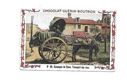 Chromo - Chocolat Guerin Boutron - N°50 - Campagne De Rome, Transport Des Vins - Guérin-Boutron