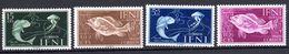 FISH - 1953 - IFNI - Mi. Nr. 128/131 -  LH -  (UP.70.42) - Ifni