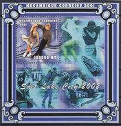 Olympics 2002 - Ice Hockey - MOZAMBIQUE - S/S MNH - Winter 2002: Salt Lake City